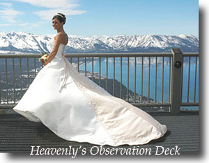 Bride on Heavenly Mountain observation deck