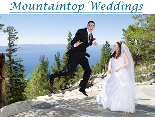 Wedding on the mountaintop of Heavenly Mountain Resort