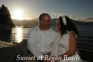 Sunset at Regan Beach