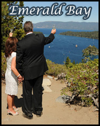 Our Emerald Bay wedding location