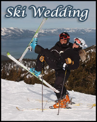 Heavenly Mountain Ski Resort ceremony