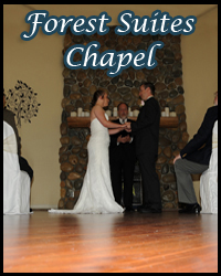 Forest Suites Resort indoor wedding chapel