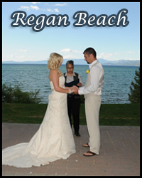 Our Regan Beach wedding location