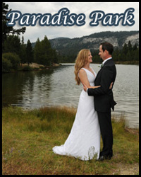 Tahoe Paradise Park wedding site in Meyers