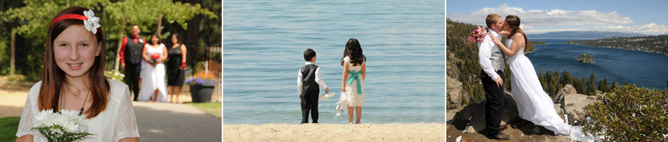 View the beautiful wedding locations Lake Tahoe has to offer