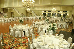 The reception banquet is most costly
