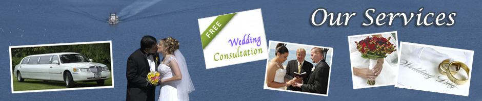 A list of services our company provides for brides and grooms