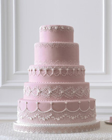 The wedding cake is a typical expense of the reception