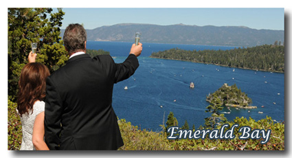 Visit our Emerald Bay wedding photo gallery
