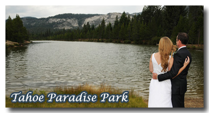 Visit our Tahoe Paaradise Park wedding photo gallery
