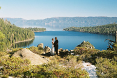 Established as a romantic getaway for weddings, Emerald Bay is perfect for eloping