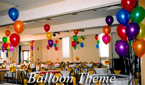 Balloon based theme