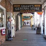 Virginia City boardwalk