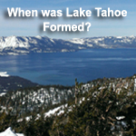 Photo of Lake Tahoe formation
