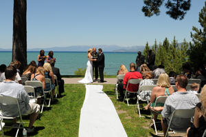 Exchanging Vows On The Gry Knoll At Regan Beach Park