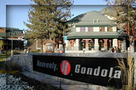 Gondola base sign