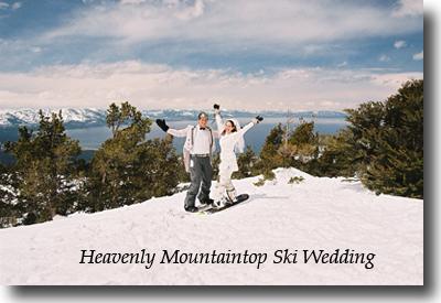 View atop Heavenly Mountain