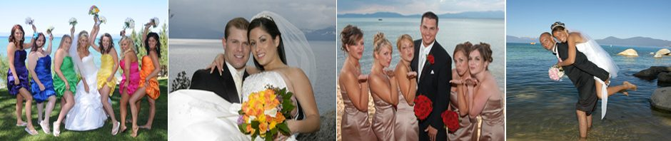 Available wedding packages for your Lake Tahoe wedding