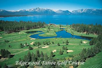 Edgewood Tahoe Golf Course in Lake Tahoe