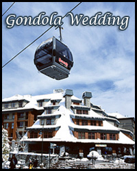 Heavenly gondola wedding venue in Lake Tahoe