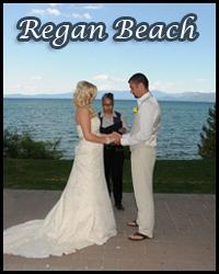 Our Regan Beach wedding location
