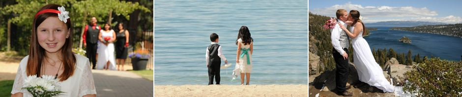 Views of the beautiful wedding locations Lake Tahoe has to offer