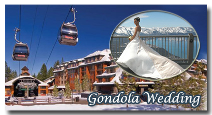 Visit the photo gallery of our gondola weddings at Heavenly Mountain