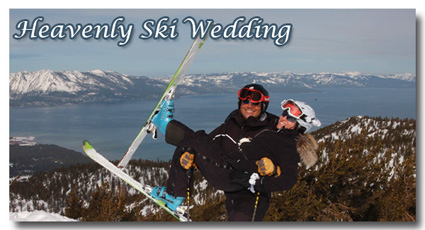 Visit the photo gallery of our ski weddings at Heavenly Mountain