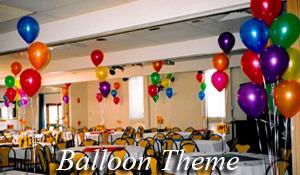 Balloon based theme