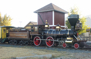 A Virginia and Truckee Railroad relic