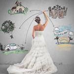 Bride planning wedding in Lake Tahoe