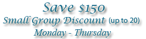 Lakeside Beach small group discount image